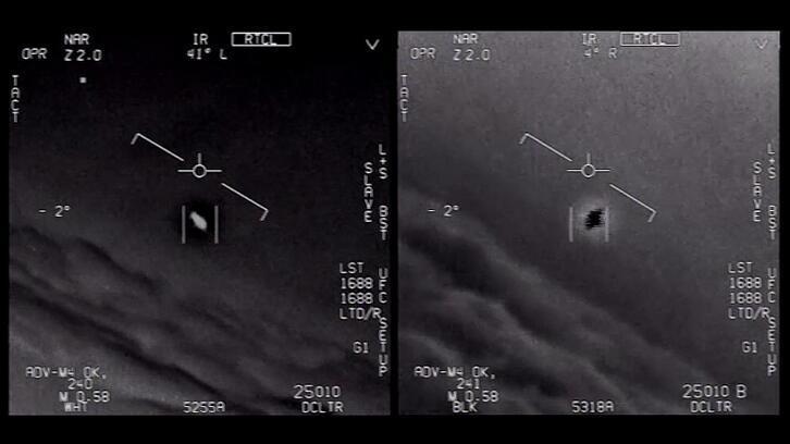 ABD'den UFO açıklaması! Görüntüler Gerçek!