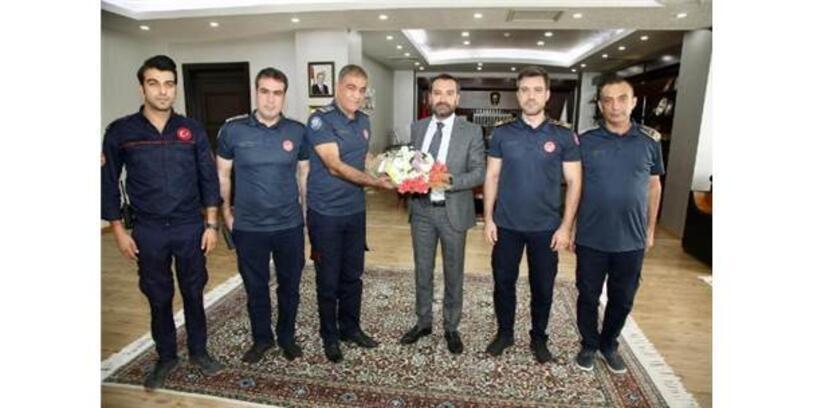 Elazığ'da İtfaiye Haftası Kutlandı