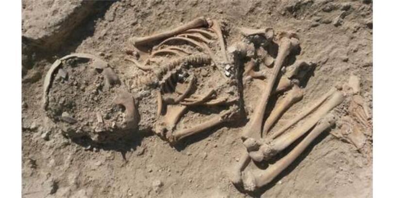 Arslantepe Höyüğünde 5700 Yıllık Çocuk İskeleti Bulundu