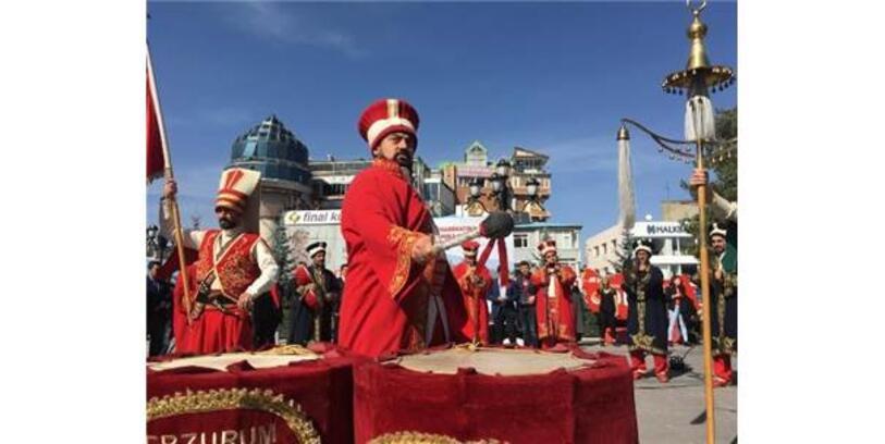 Erzurum'dan Barış Pınarı Harekatı'na Katılan Askerler İçin Dua