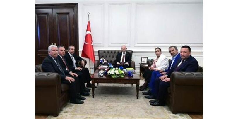 Beyoğlu, Ankara'da Temaslarda Bulundu