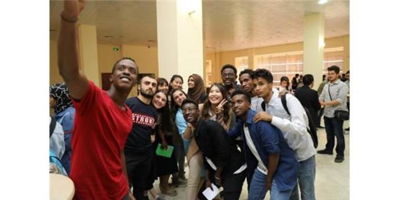 """Üniversitede """"Uluslararası Öğrenciler İle Buluşma"""" Etkinliği Gerçekleştirildi"""