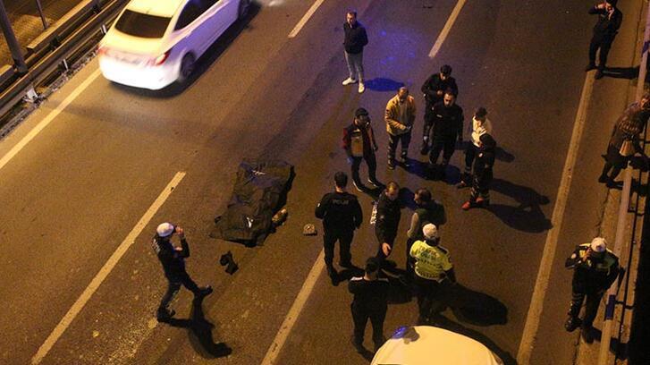 Köprüden yola atlayan kadın hayatını kaybetti