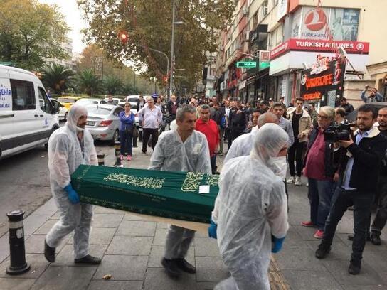 Fatih'te ölü bulunan 4 kardeş son yolculuğuna uğurlandı