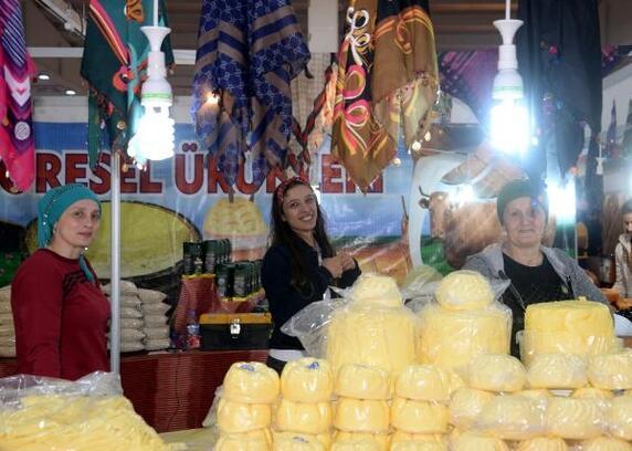 45 kentin marka lezzetleri Diyarbakır'da sergilendi