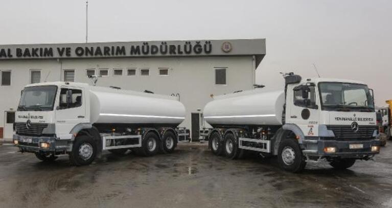 Yenimahalle'den araç filosuna tanker takviyesi