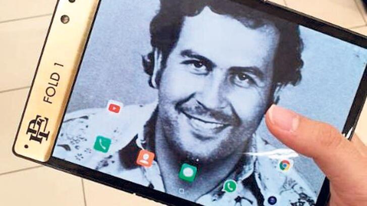Escobar'ın son ürünü cep telefonu