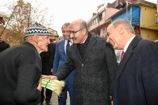 Vali Demirtaş'tan Saimbeyli ziyareti