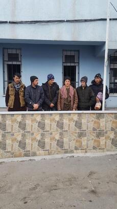 Niğde'de 6 kaçak göçmen yakalandı
