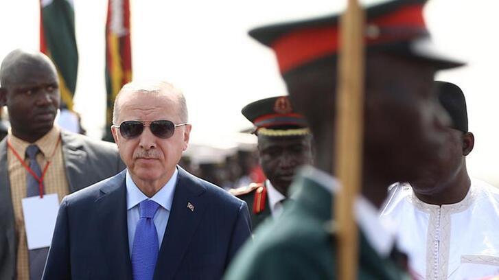 Cumhurbaşkanı Erdoğan Gambiya'dan ayrıldı