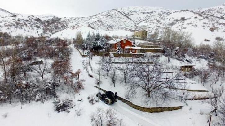 Erzincan'da 'kar kaplanları', 24 saat görev başında