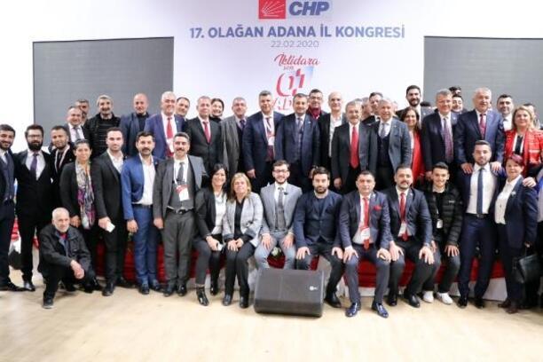 CHP Adana İl Başkanı Mehmet Çelebi, güven tazeledi