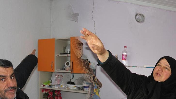 Konya'daki depremin ardından evlerde inceleme yapıldı!