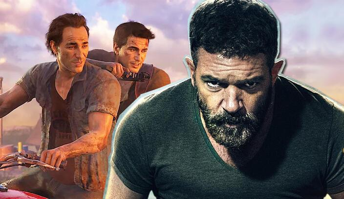 Uncharted filmine Antonio Banderas katıldı!