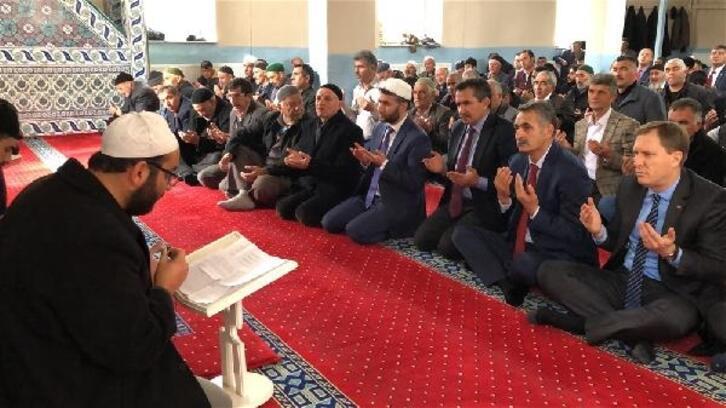 Digor'da Kaymakamlık ve Belediye Şehitlerimiz için mevlit okuttu