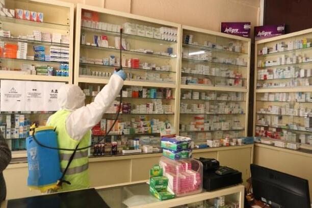 Sivrihisar'da koronavirüsle mücadele