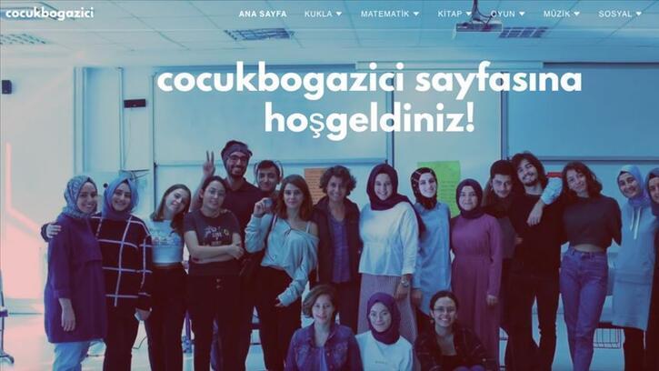 Boğaziçi Üniversitesi çocukları Kovid-19'dan korumak için web sitesi hazırladı