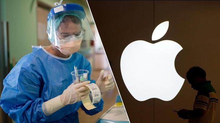 Apple Corona virüse karşı yüz siperini tanıttı!
