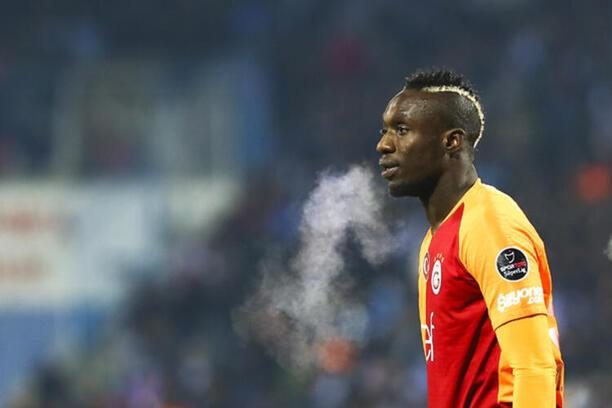 Diagne'den Galatasaray formalı antrenman!