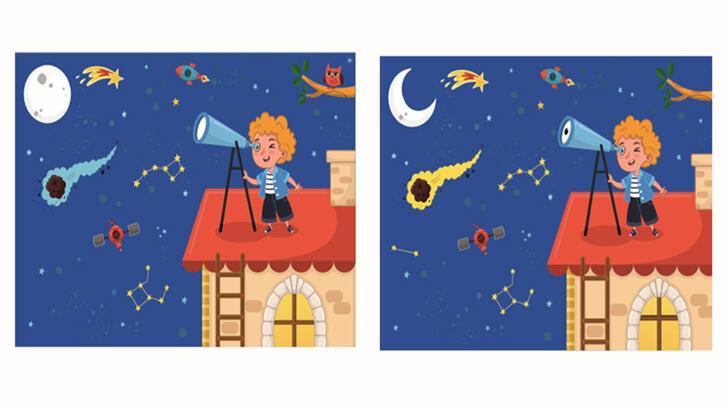 7 farkı bul (bulmaca) oyunu: Resimler arasındaki 7 farkı kim bulacak?