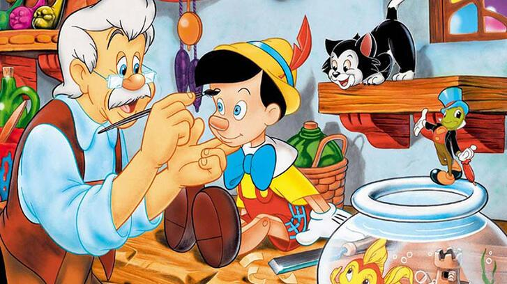 Pinokyo Masalı ve Hikayesi Oku - Yalanı sevmeyen pinokyo…