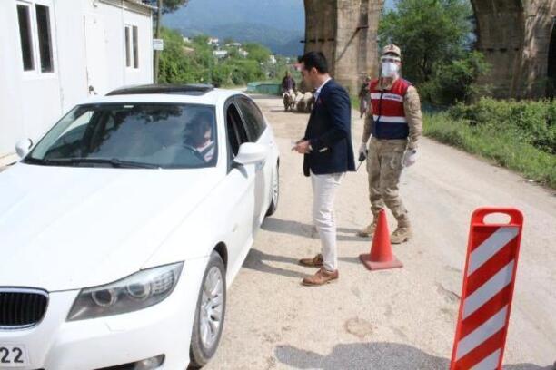 14 büyük şehir ve Zonguldak'tan, Düziçi'ne gelenlere karantina uygulanacak