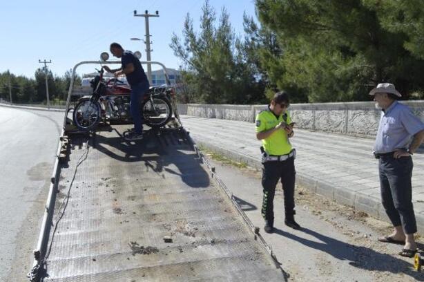 Adıyaman'da motosiklet devrildi: 2 yaralı
