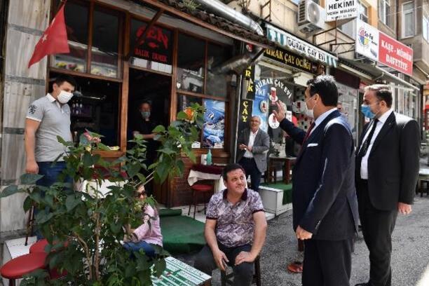 Osmangazi Belediye Başkanı Dündar, esnafı ziyaret etti