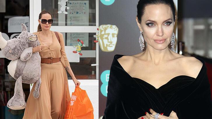 Angelina Jolie'den ırkçılığa karşı 200 bin dolarlık bağış