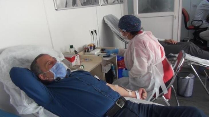 Kırşehir'de, 15 günde 900 ünite kan toplandı
