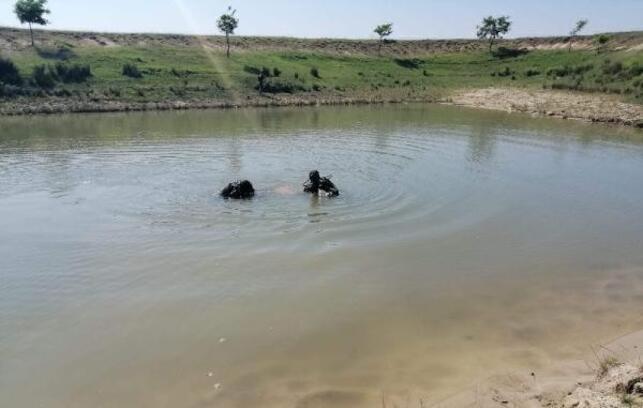 Gölette kaybolan Afganlı gencin cesedi bulundu