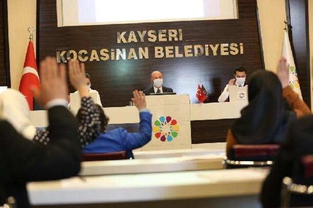 Kocasinan meclisi, Temmuz ayı toplantısı yapıldı