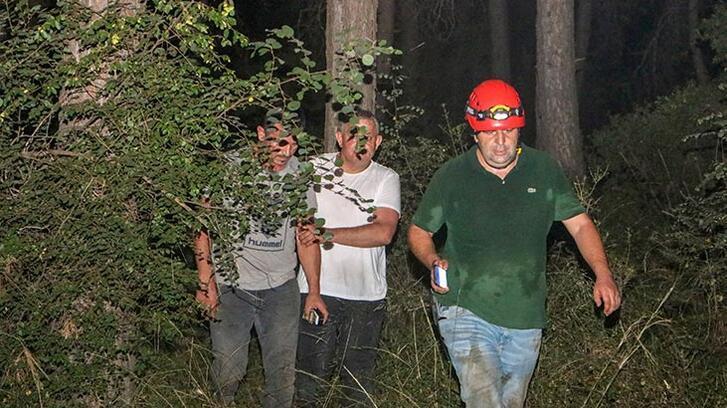 Antalya'da mağarada mahsur kalan 3 kişi kurtarıldı
