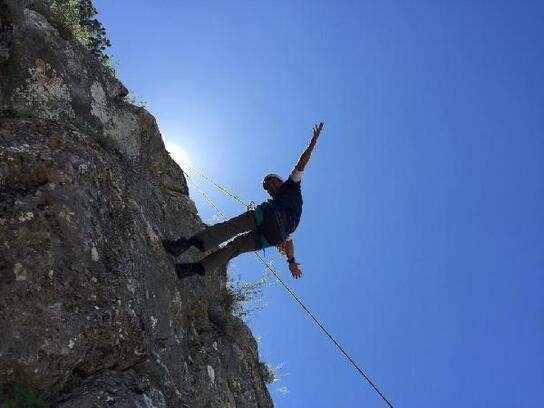 Delihöbek Dağı'na tırmandılar