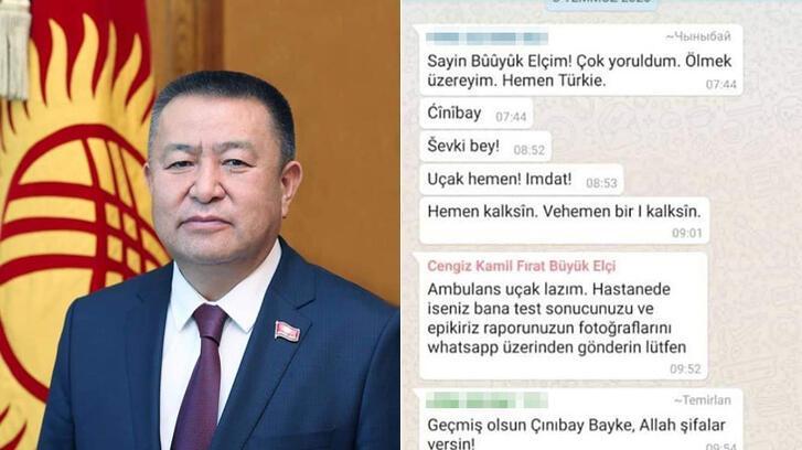 Koronavirüsten ölmeden önce son sözleri: Beni Türkiye'ye kaldırın