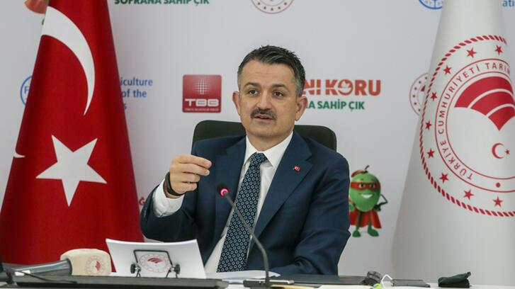 Bakan Pakdemirli, Gıdanı Koru Kampanyası için belediye başkanlarıyla görüştü