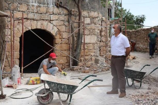 Ömerli'de 'Tarihe altın dokunuş' projesi