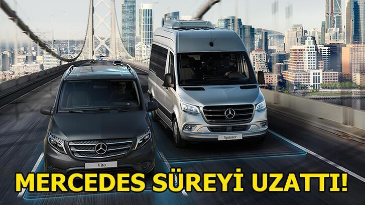 Mercedes-Benz uzatma kararı aldı!