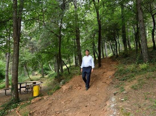 Osmangazi Belediyesi, Uludağ'ın eteklerinde yeşil hat oluşturuyor