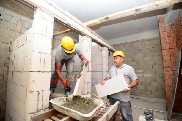 Muratpaşa Camisi inşaatında sona doğru