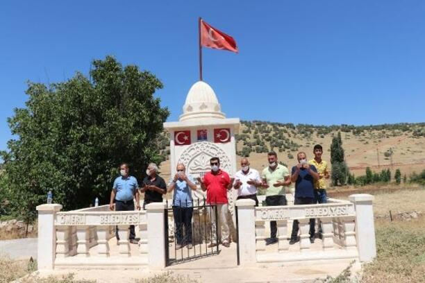 Ömerli'de 'Şehitler anıtı çeşmesi' açıldı