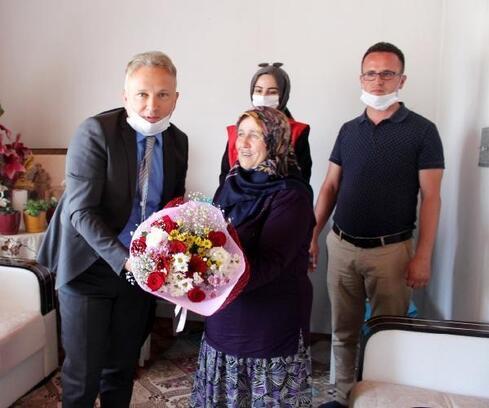 Bucak'ta şehit yakınları ve gazilere ziyaret