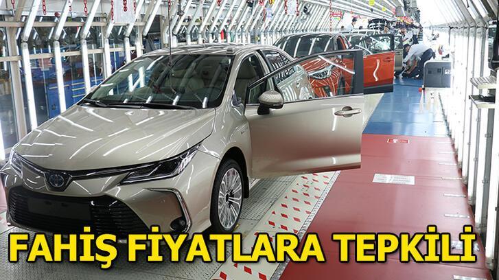 Toyota fahiş fiyatlara tepkili!