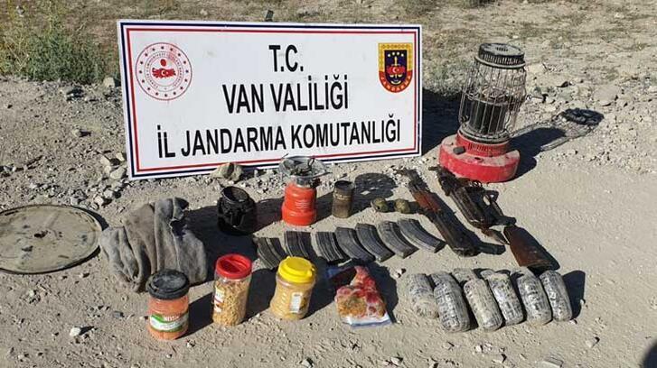 Van'da PKK operasyonunda uyuşturucu ve silah ele geçirildi