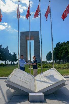 Parlamentolararası Birlik Başkanı Barron, Tarihi Alan'ı ziyaret etti