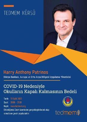 Dünya Bankası yöneticisi, Covid-19 sürecinde eğitimi anlatacak