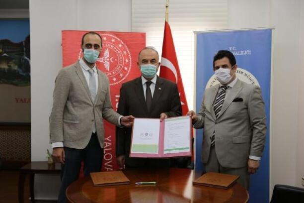 Yalova'da, 'Eğitim ve Sağlık El Ele' protokolü imzalandı