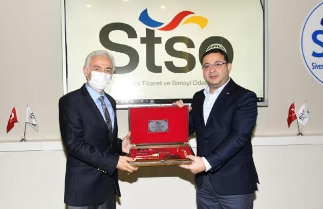 TÜRESAŞ'tan STSO'ya ziyaret