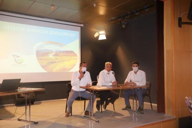 Çiftçilere verilecek destek anlatıldı