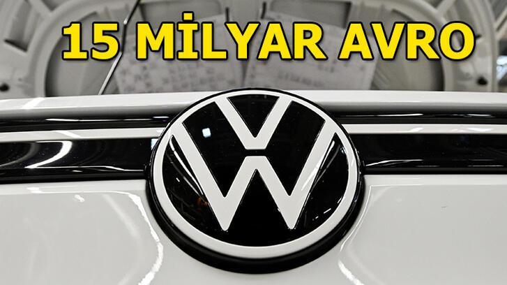 Volkswagen'den elektrikli otomobile 15 miyar avro